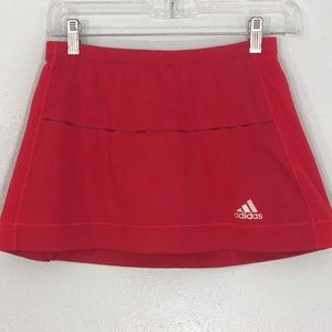 Adidas Skort Red Size Small